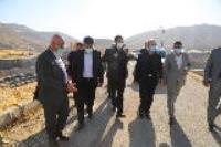 بازدید وزیر نیرو از پروژه طرح ارتقا تصفیه خانه فاضلاب شهر ایلام